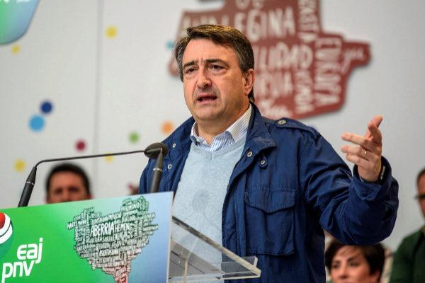 Aitor Esteban, candidato del PNV.
