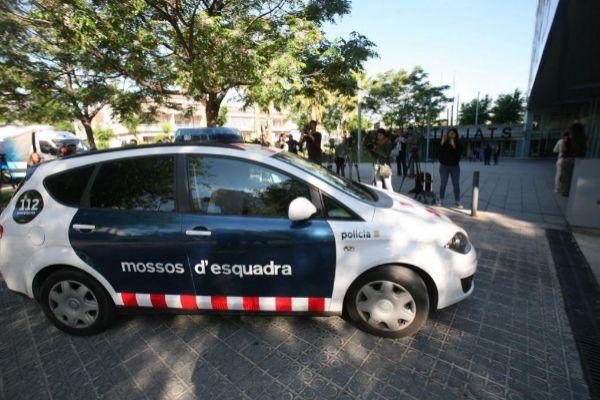 Imagen de la llegada de los acusados a los juzgados de Vilanova