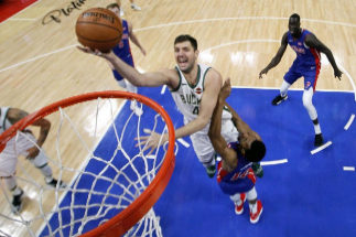 Mirotic, en un partido ante los Pistons.