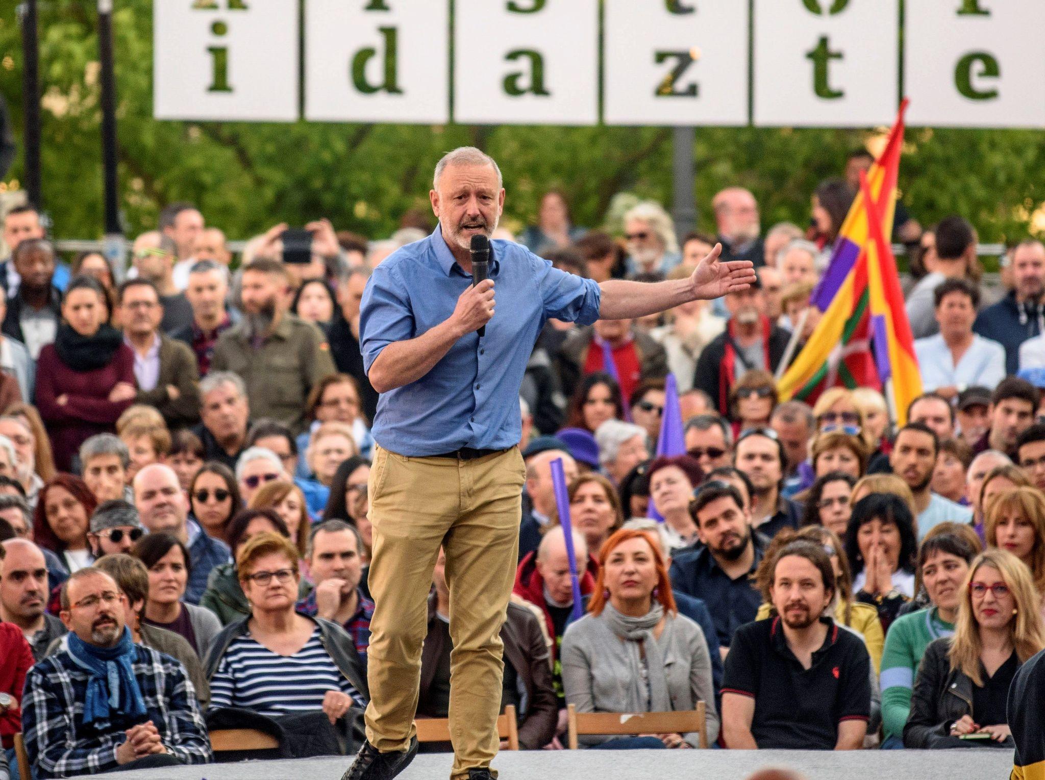 El candidato por Bizkaia, Roberto Uriarte.