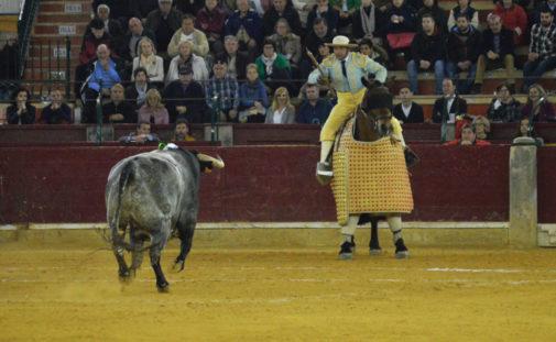 Jorge Torres ganó el trofeo al mejor picador con tres grandes puyazos al toro de Pablo Mayoral