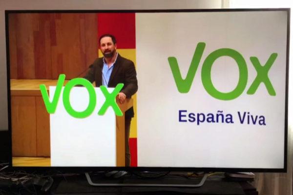 La propaganda de Vox inunda el principal programa para ver películas pirata