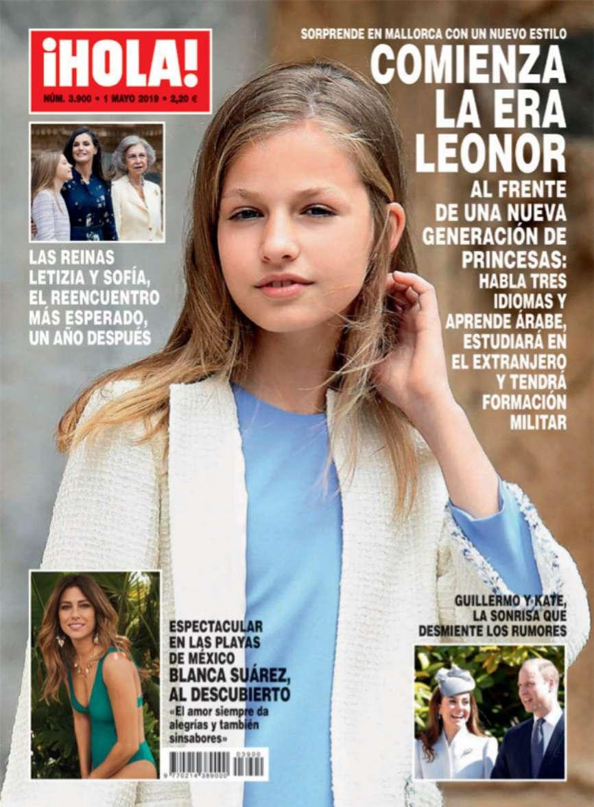 La revista ¡Hola! apunta a la Princesa Leonor como la auténtica...