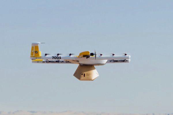 Wing, los drones de reparto de Google, ya tienen licencia para volar