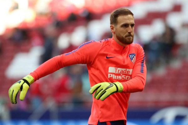 El portero del Atlético de Madrid Jan Oblak