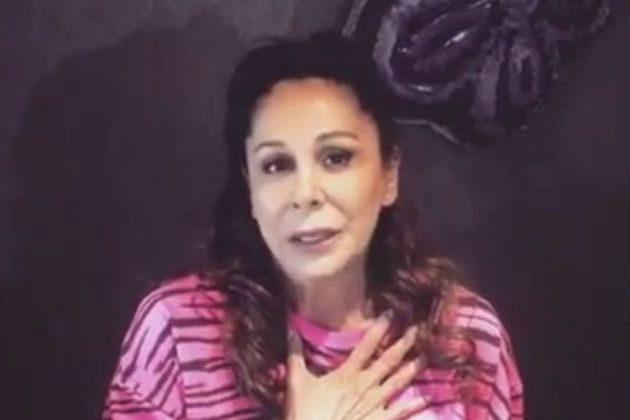 Isabel Pantoja en el vídeo que ha compartido antes del estreno de...