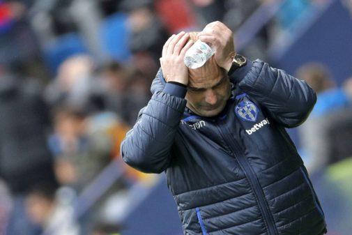 El técnico del Levante, Paco López.