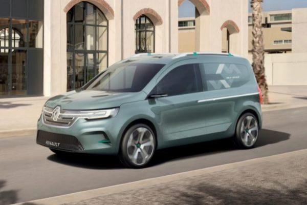 Renault Kangoo Z.E. Concept.