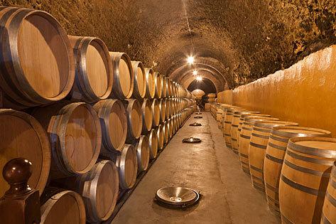 Una de las bodegas de Valladolid, destino del 'Tren del Vino' de Renfe.