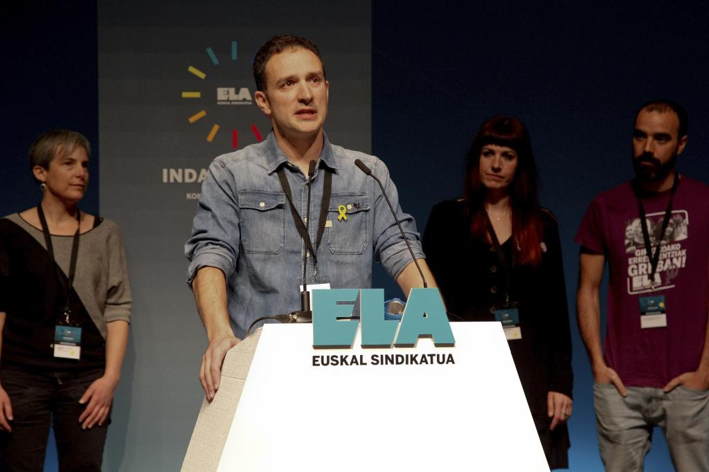 Mitxel Lakuntza, secretario general de ELA.