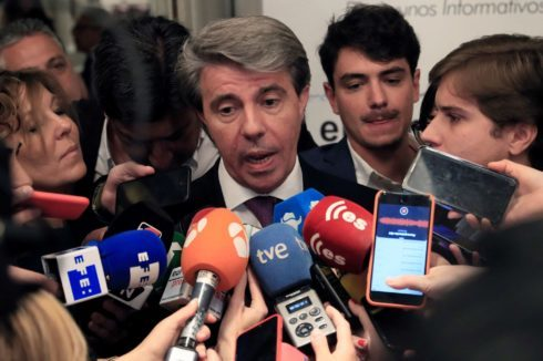 El ex presidente Ángel Garrido.
