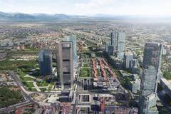 Recreación de Madrid Nuevo Norte.