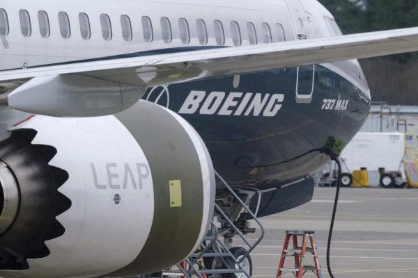 Un avión Boeing 737 Max en el aeropuerto de Seattle (EEUU).