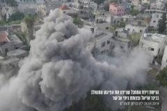 Increíbles imágenes de una demolición en Israel
