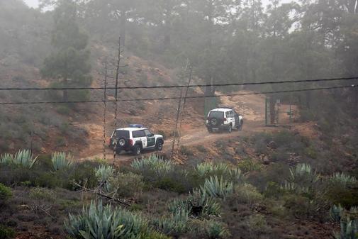 Dispositivo de búsqueda de la Guardia Civil en Adeje