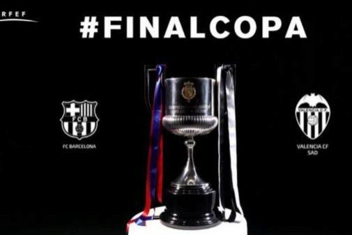Imagen promocional de la final de Copa.