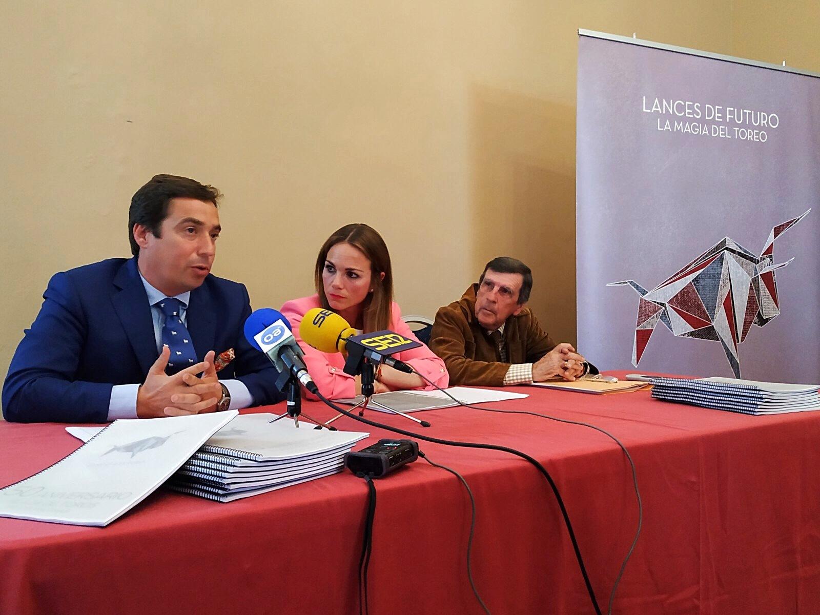 José María Garzón, Victoria Collantes y Diego Rodríguez