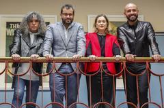 Mariano Muniesa (UP), Iban Garcia del Blanco (PSOE), Marta Rivera de la Cruz (Cs) y Jaime de los Santos (PP).