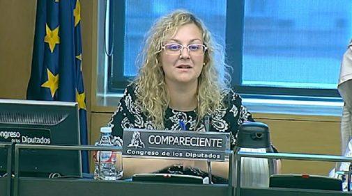 María Sevilla, en el Congreso de los Diputados, de la mano de Podemos.