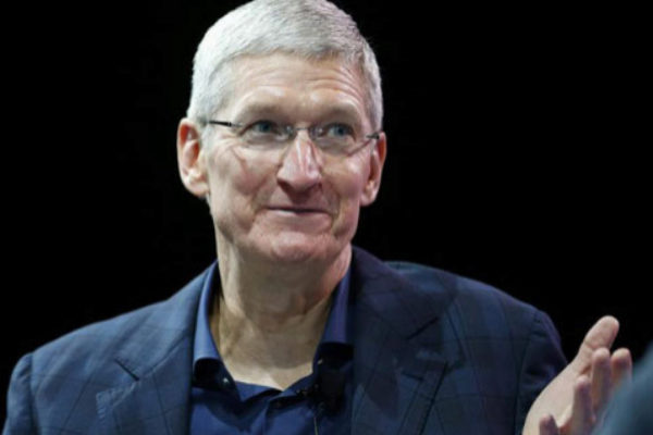 El consejero delegado de Apple, Tim Cook