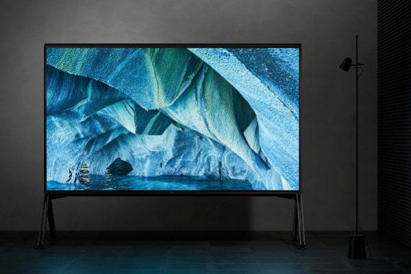 La nueva televisión Sony 8K de 94 pulgadas.