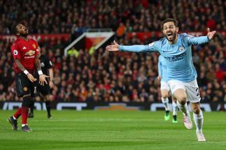 Triunfo crucial del City de Guardiola en Old Trafford
