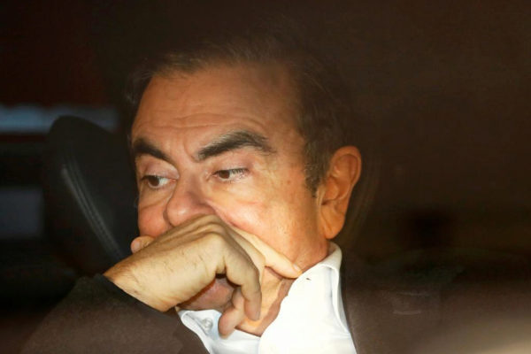 FILE PHOTO: Former Nissan Motor Chairman <HIT>Carlos</HIT>...
