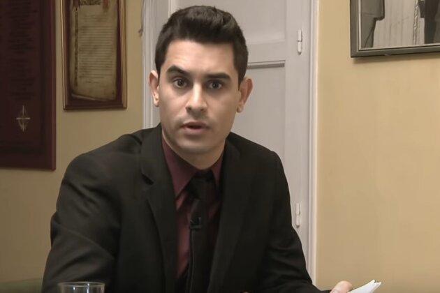El humorista David Suárez en su sección en Late Motiv, espacio del...