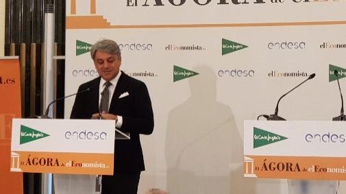 Luca De Meo, presidente ejecutivo de Seat en el Ágora de El Economista.