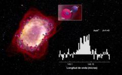 El ion hidruro de helio detectado en la nebulosa NGC7027.