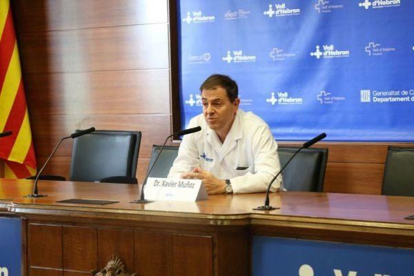 Xavier Muñoz, investigador de la Vall d'Hebron