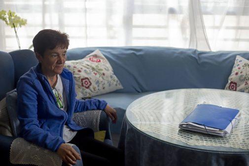 Estrella Martín, enferma de colelitiasis