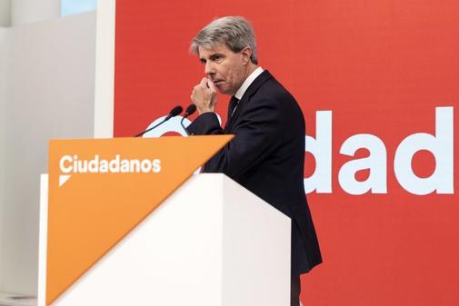 Ángel Garrido, en su presentación con Ciudadanos