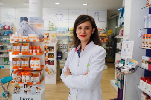 Lydia Sánchez, farmacéutica en Pinto (Madrid)