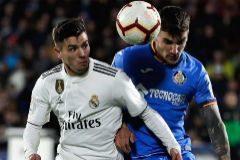 El Real Madrid no puede con la malla del Getafe