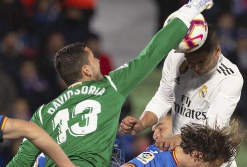 El Madrid no puede con la malla del Getafe