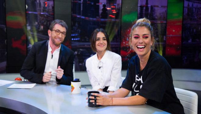 Blanca Suárez y Macarena García en El Hormiguero