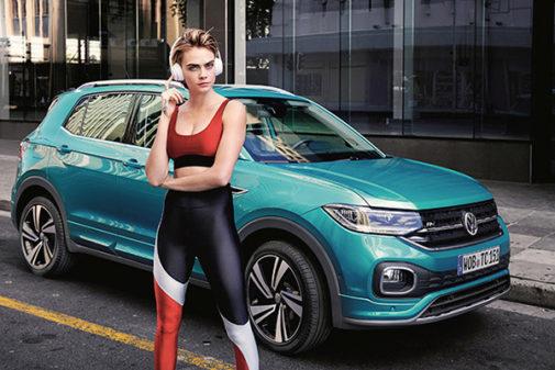 Delenvigne será la cara del Volkswagen T-Cross.