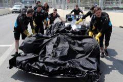 La tapa de una alcantarilla provoca el pánico en Bakú