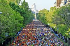 Amplios cortes al tráfico en el centro por el Maratón