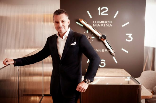 Pontroué dirige la firma suiza de origen italiano desde hace un año.