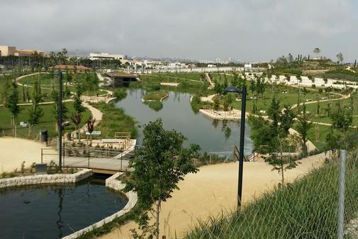 Parque inundable de La Marjal en la Playa de San Juan de Alicante.