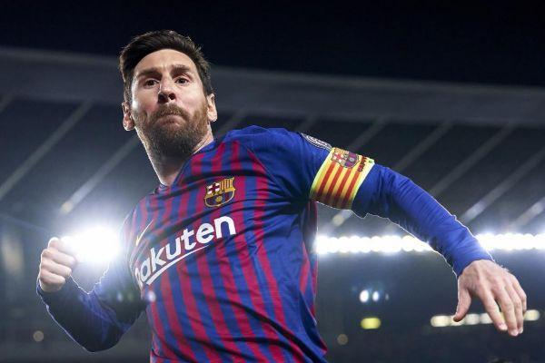 Leo Messi, delantero del Barcelona, durante un partido de esta temporada