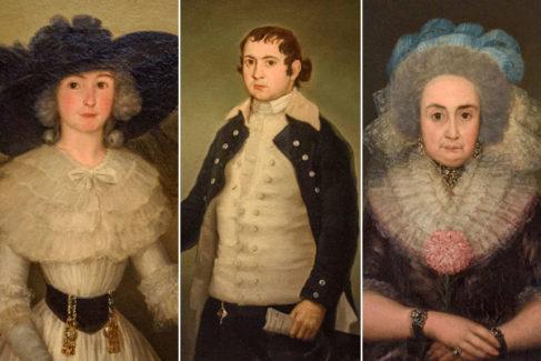 El regreso de los tres Goyas 'exiliados' 82 años en una caja de madera