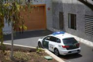 La Guardia Civil entrando en los juzgados de Arona