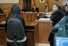 La madre de la niña asesinada durante su declaración en el juicio