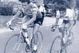 Bahamontes (dcha), junto a Poulidor, en el Tour de 1962.