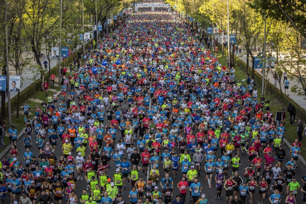 Un momento de la Maratón de este año.