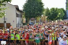 Salida del medio maratón de Trieste de 2018.