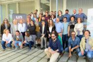 Alumnos y ponentes del curso de cooperación internacional celebrado en La Rábida.